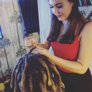 Amelia Jane Brisbane Dreadlocks